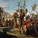 Giovanni Battista Tiepolo - Queen Zenobia Addressing Her Soldiers