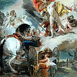 Giovanni Battista Tiepolo - The Harnessing of the Horses of the Sun