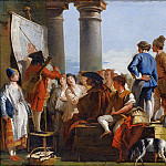 Giovanni Battista Tiepolo - The Ballad Singer