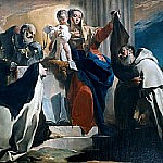 Madonna of Mount Carmel, Giovanni Battista Tiepolo