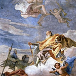 Giovanni Battista Tiepolo - Glorification of a Member of the Porto Family