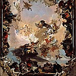 Allegory of the Planets and Continents, Giovanni Battista Tiepolo