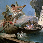 Giovanni Battista Tiepolo - The Flight into Egypt