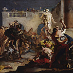 Giovanni Battista Tiepolo - The Rape of the Sabine Women