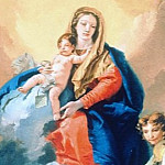 Giovanni Battista Tiepolo - Virgin with child, St. Catherine and archangel Michael