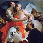 Abraham and the three angels, Giovanni Battista Tiepolo