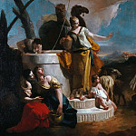 Giovanni Battista Tiepolo - Meeting of Rebecca and Eleazaro at the well