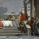 Giovanni Battista Tiepolo - The Banquet of Cleopatra [Studio]