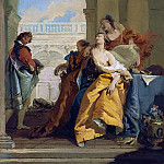 Death of Sophonisba, Giovanni Battista Tiepolo
