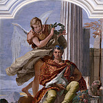 Giovanni Battista Tiepolo - Courage Crowned by Glory