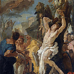 Martyrdom of St. Sebastian [Workshop], Giovanni Battista Tiepolo