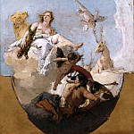 Giovanni Battista Tiepolo - Diana, Apollo and Nymphs