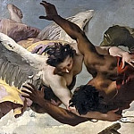 The angel who saves a boy, Giovanni Battista Tiepolo