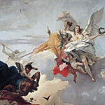 Giovanni Battista Tiepolo - The Triumph of Virtue and Nobility Over Ignorance