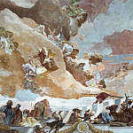 Giovanni Battista Tiepolo - Apollo and the Continents, detail - Africa