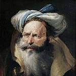 Portrait of an Oriental, Giovanni Battista Tiepolo