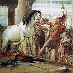 Giovanni Battista Tiepolo - Alexander and Bucephalus