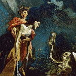 Age and Death, Giovanni Battista Tiepolo
