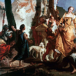 Giovanni Battista Tiepolo - The discovery of Moses