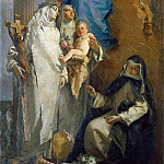 Giovanni Battista Tiepolo - The Virgin Appearing to Dominican Saints