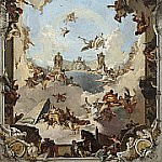 Wealth and Benefits of the Spanish Monarchy under Charles III, Giovanni Battista Tiepolo