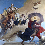 Juno and Luna, Giovanni Battista Tiepolo