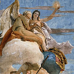 Giovanni Battista Tiepolo - Time unveils Truth