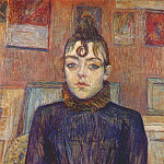 Henri De Toulouse-Lautrec - lautrec_girl_with_lovelock_1889