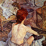 Henri De Toulouse-Lautrec - Toulouse-Lautrec de Henri After bathing Sun