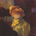 Henri De Toulouse-Lautrec - lautrec_the_modiste_1900