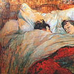 Henri De Toulouse-Lautrec - lautrec_in_bed_1893