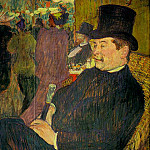 Henri De Toulouse-Lautrec - Portrait of Monsieur Delaporte at the Jardi