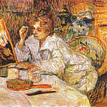 Henri De Toulouse-Lautrec - lautrec_woman_at_her_toilette_1889