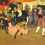Henri De Toulouse-Lautrec - lautrec_marcelle_lender_doing_the_bolero_in_chilperic_1895