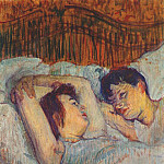 Henri De Toulouse-Lautrec - lautrec_in_bed_1892