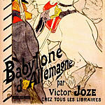 Анри де Тулуз-Лотрек - lautrec_babylone_dallemagne_(poster_for_the_german_babylon)_1894