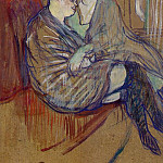 Henri De Toulouse-Lautrec - toulouse-lautrec_two_girlfriends