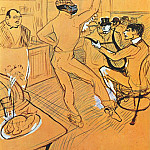 Henri De Toulouse-Lautrec - lautrec_chocolat_dancing_in_the_irish_american_bar_1896