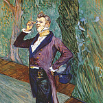 Henri De Toulouse-Lautrec - lautrec_the_actor_henry_samary_1889