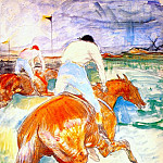 Henri De Toulouse-Lautrec - lautrec_the_jockey_1899
