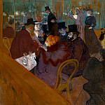 Henri De Toulouse-Lautrec - lautrec_at_the_moulin_rouge_1892