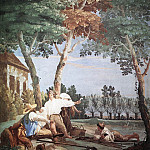 TIEPOLO_Giovanni_Domenico_Peasants_At_Rest, Giovanni Battista Tiepolo