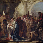 Giovanni Domenico Tiepolo - The Presentation in the Temple