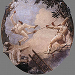 Джованни Доменико Тьеполо - TIEPOLO_Giovanni_Domenico_The_Swing_Of_Pulcinella