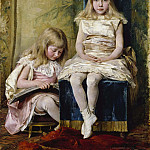 Pierre-Jacques Volaire - Hildegard and Alfhild Tamm Children