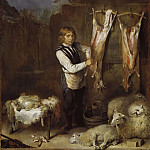 Anne Vallayer-Coster - Sheep Butcher [Manner of]
