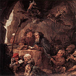 Дэвид II Тенирс - TENIERS_David_the_Younger_Temptation_Of_St_Anthony