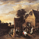David II Teniers - TENIERS_David_the_Younger_Flemish_Kermess_1652