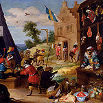 David II Teniers - Teniers_David_A_Festival_Of_Monkeys