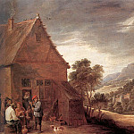 David II Teniers - TENIERS_David_the_Younger_Before_The_Inn